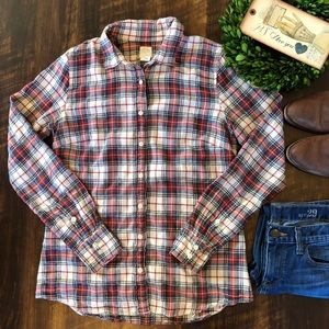 J. Crew Perfect Button Down Shirt